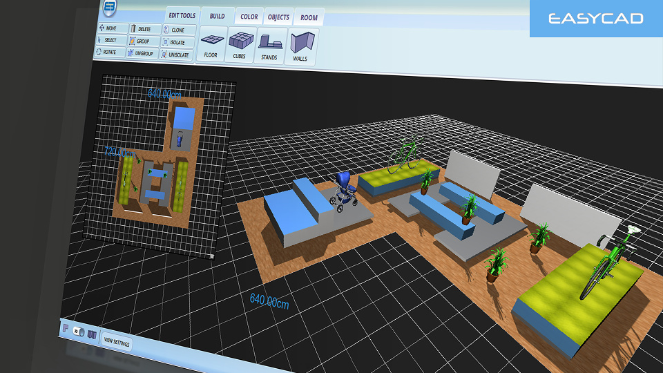 Cloud Powered 3D CAD Designer integrated with e-Commerce
